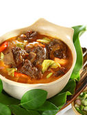 Mutton in Sweet and Spicy Soy Sauce — Stock Photo