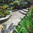 Natural stone garden — Stock Photo