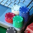 Online Poker — Stock Photo #9661703