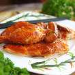 Asian Food Crispy Chicken - Stock Photo