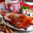 Stock Photo: Roasted whole Peking Duck