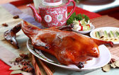 Roasted whole Peking Duck — Stock Photo