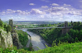 Clifton Suspension bridge Bristol — Stock Photo