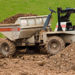 Stock Photo: Dumper truck