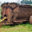 Stock Photo: Muck Spreader