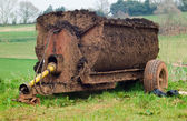 Muck Spreader — Stock Photo