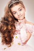 A little beautiful girl — Stock Photo