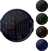 Digital Clocks — Stock Vector