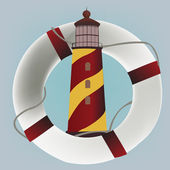 Lighthouse design — Stock Vector