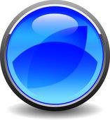 Blue icon — Stock Vector