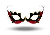 Ball Mask — Stock Vector
