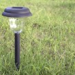 Solar power garden light — Stock Photo #9153311