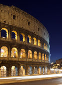 Rome, Italy, Coliseum by night — Stock Photo