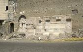 Castrum caetani e cecília metela mausoléu, roma, itália — Foto Stock