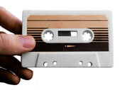Audiocassette — Stock Photo
