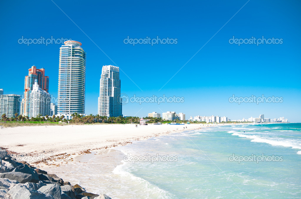 South Beach, Miami, Florida  — Stock Photo #8773991