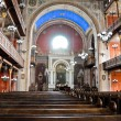 Inside the synagogue of Pecs — Stockfoto