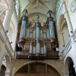 Stock Photo: Organ of Etienne cathedral