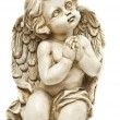 Clay angel praying towards God — Stock Photo #8668558