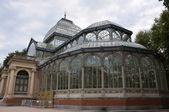 Crystal palace of Madrid — Stock Photo