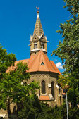 Reformed church of Szeged — Stock Photo