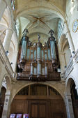 Organ of Etienne cathedral — Stock Photo