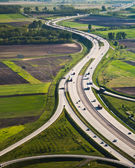Hungarian highway — Stock Photo