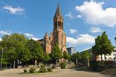 Kreuzeskirche side view — Stock Photo