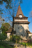Bell tower of the church of Avas — Stock Photo
