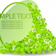 Royalty-Free Stock Vector Image: Leaf clover