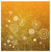 Vector dandelions — Stock Vector