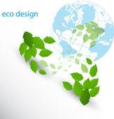 Eco deisgn — Stock Vector