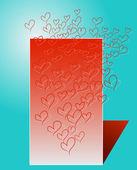Stylized heart — Stock Vector