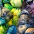 Stock Photo: Dyed Fiber