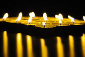 Light candles — Stockfoto