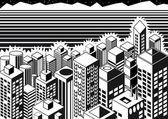 Metropolis — Stock Vector