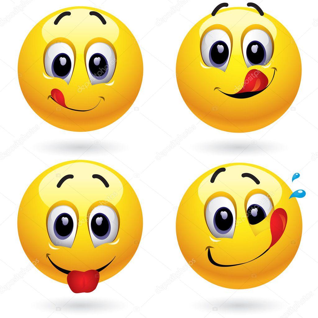 smily zunge