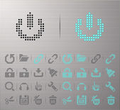 Computer and Internet icons — Stock Vector