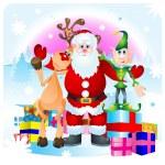 Santa Clause — Stock Vector #8968421