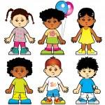 Children — Stock Vector #8968869
