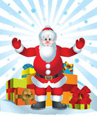 Santa Clause — Stock Vector
