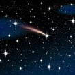 Shooting star — Stock Photo