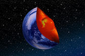 Core of the earth — Stock Photo