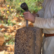 Stock Photo: Stonecutter