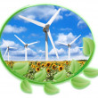 Wind energy — Stock Photo #9620749