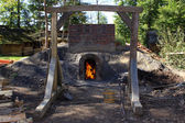 τούβλο kiln — Φωτογραφία Αρχείου