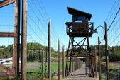 Concentration camp Vojna — Stock Photo