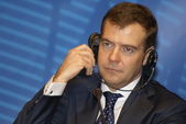Dmitry Medvedev, President of Russia — Stock Photo