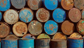 Old_barrels — Stock Photo