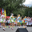 "Folklore dancing group ""Mosaic"" — Stock Photo #10157597"